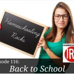 Free homeschooling podcast about starting the school year.