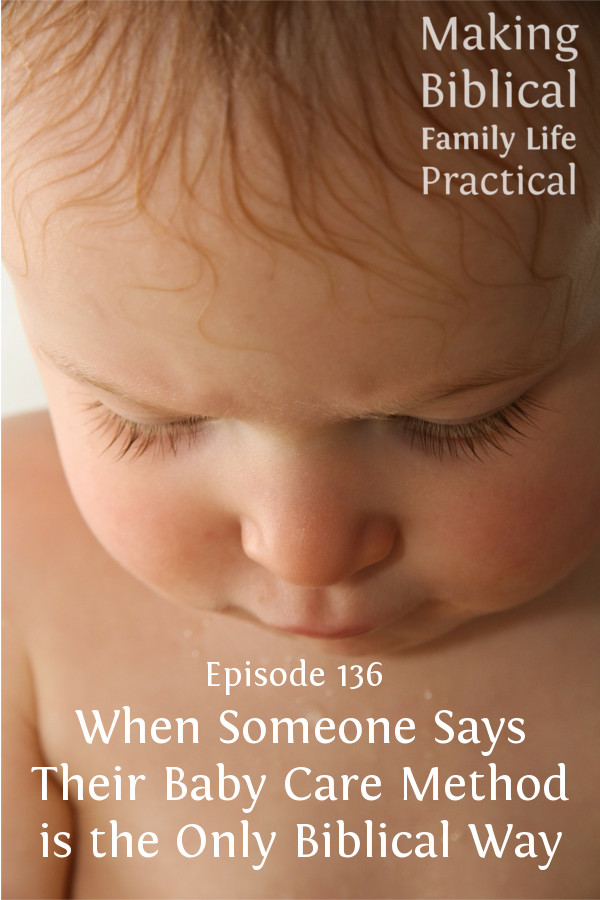 RRM Biblical Parenting of Babies