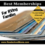 Best Memberships for RVing Families