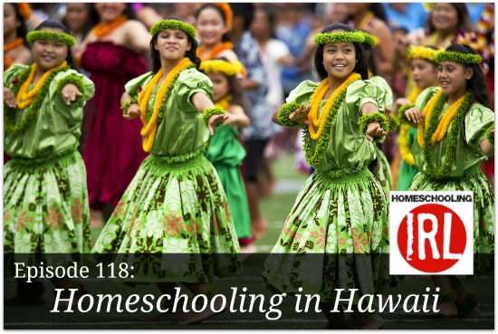 Free podcast about homeschooling in Hawaii.