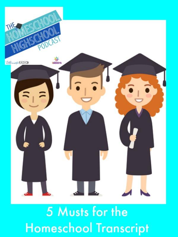5 Musts for Homeschool Transcript HSHSP 30