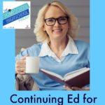 HSHSP Ep 29: Continuing Ed for Homeschool Moms