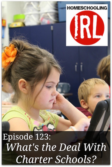 Free homeschool podcast about homeschooling with a charter school