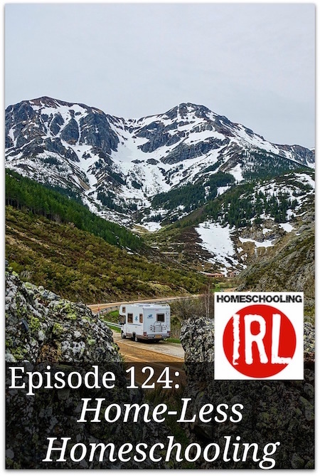Free homeschool podcast about homeschooling on the road. RV homeschooler.