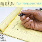 Plan Your Homeschool Year