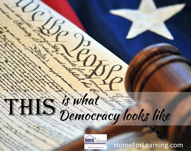 This Is What Democracy Looks Like And >> This Is What Democracy Looks Like Ultimate Homeschool Podcast Network