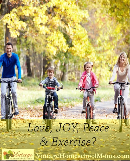 love, joy, peace, and exercise