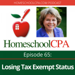 Special Replay: What Homeschool Leaders Don't Know About Losing Tax Exempt Status