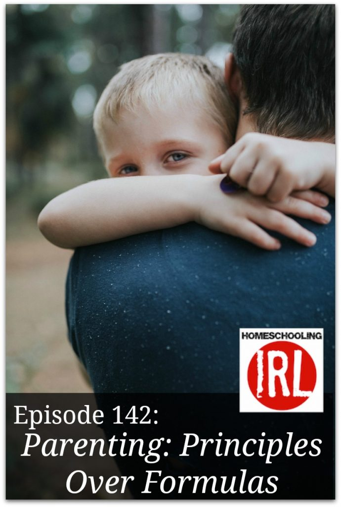 Free homeschool podcast about Christian parenting with principles and not formulas