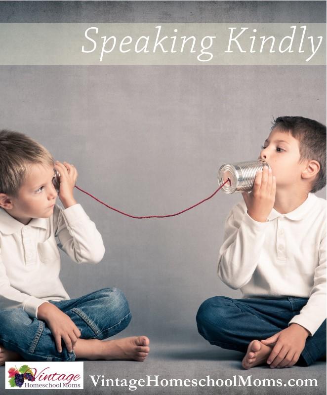 Teaching Children to Speak Kindly