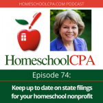 Keep Up To Date on State Filings for Your Homeschool Nonprofit