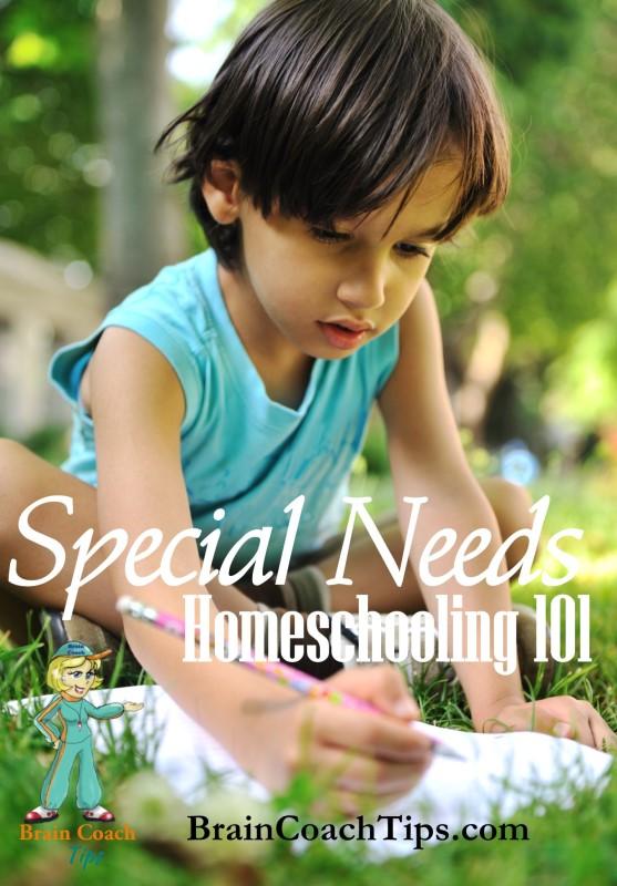 special needs homeschooling 101