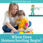 When Does Homeschool Begin?