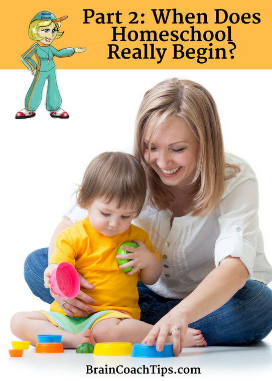 When Does Homeschool Really Begin? with The Brain Coach, Dr. Jan Bedell
