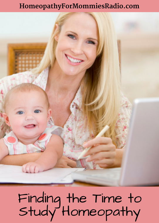 How to Find Time to Study Homeopathy with Sue Meyer from Homeopathy for Mommies