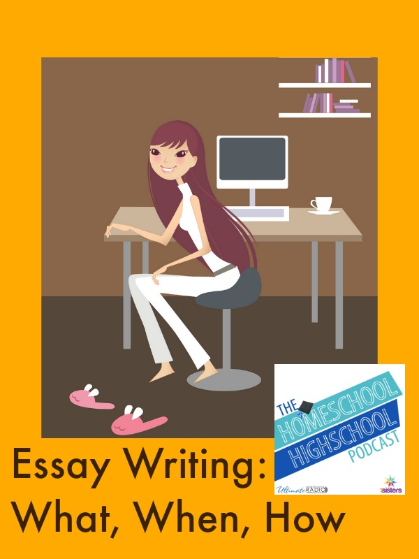 HSHSP Ep 60: Essay Writing: What, When, How!