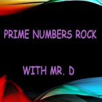 Prime Numbers Rock