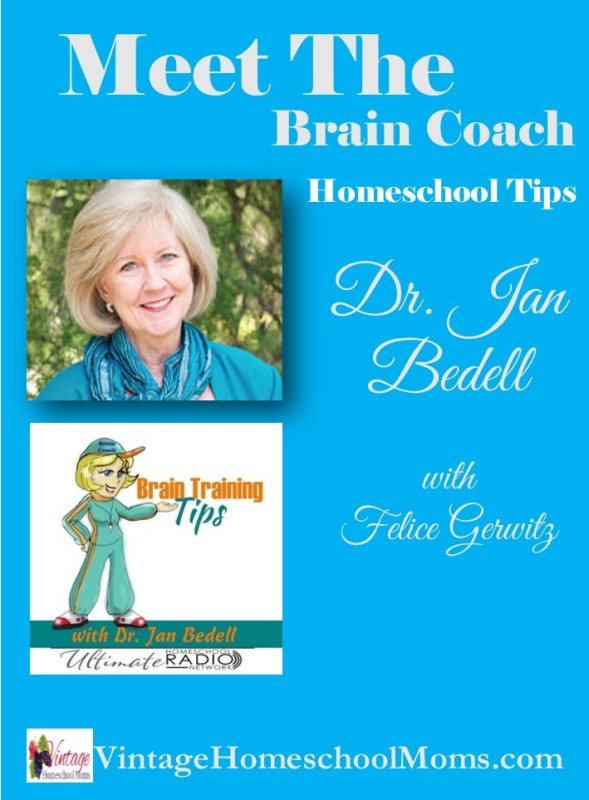 "homeschool tips | Are you ready to meet the ""Brain Coach"" – she is my special guest"