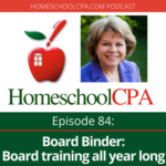 Best Of HomeschoolCPA: Board Binder: Board Training All Year Long