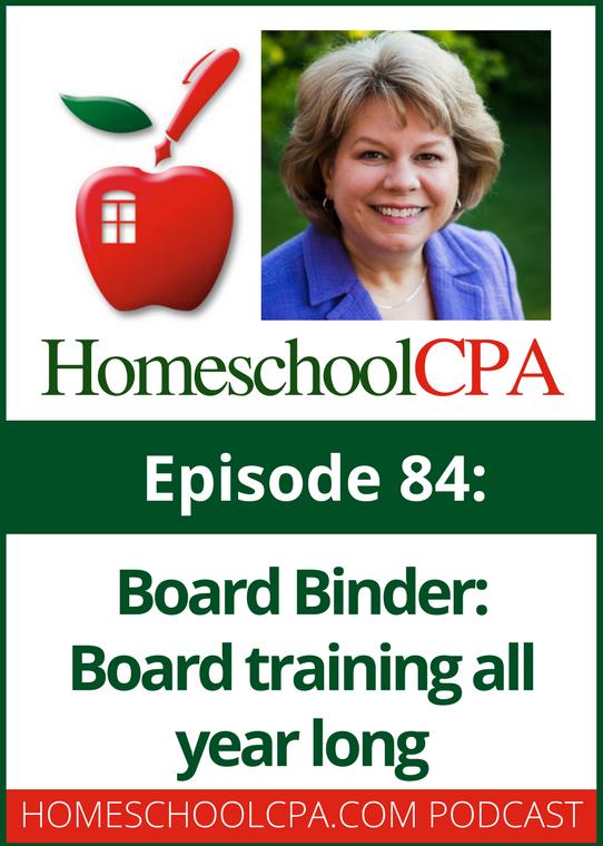 Board Binder: Board Training All Year Long for Homeschool Organizations