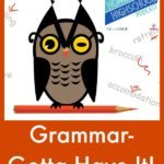 HSHSP Ep 64: Grammar- Gotta Have It! Highschool grammar is a must!