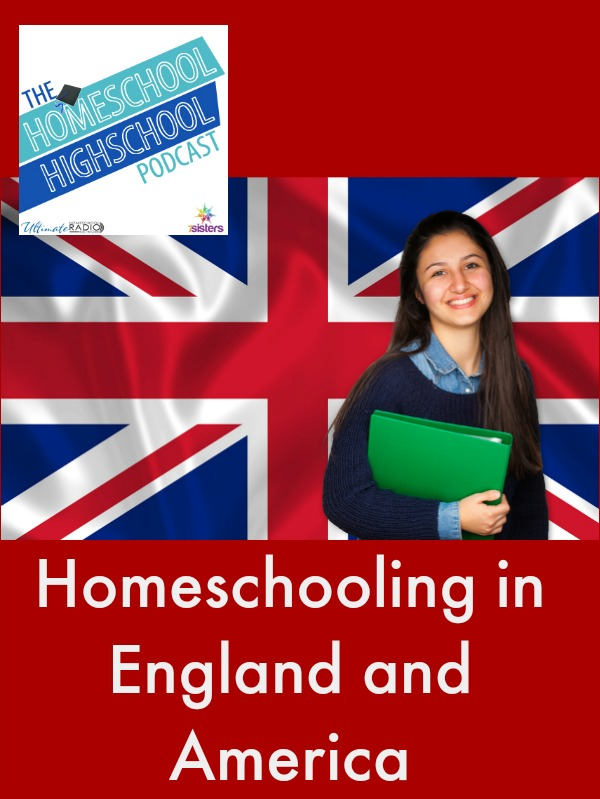 HSHSP Ep 65: Homeschooling in UK and US