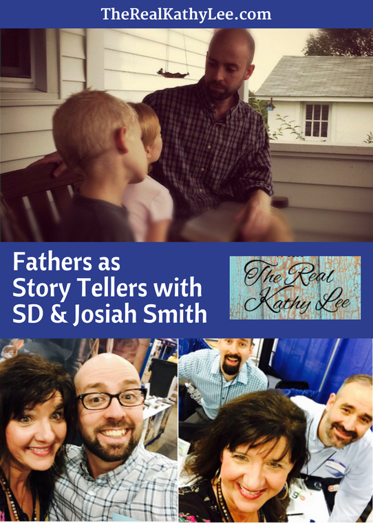 Fathers as Storytellers with SD and Josiah Smith on The Real Kathy Lee Podcast!