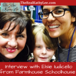 Interview with Elsie Iudicello from FARMHOUSE SCHOOLHOUSE
