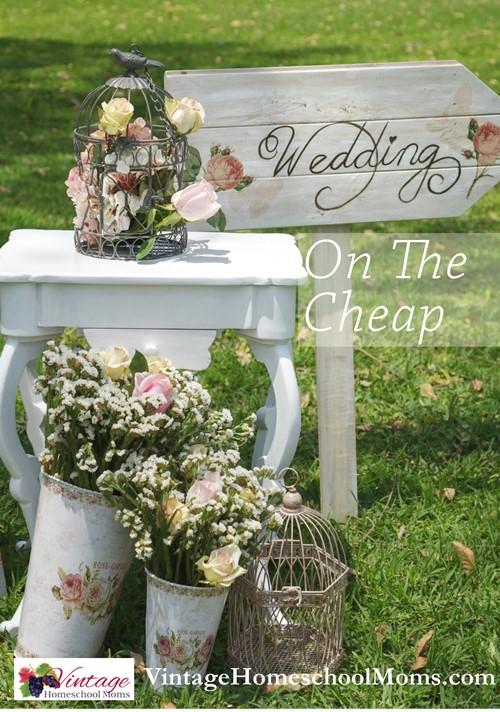weddings on the cheap