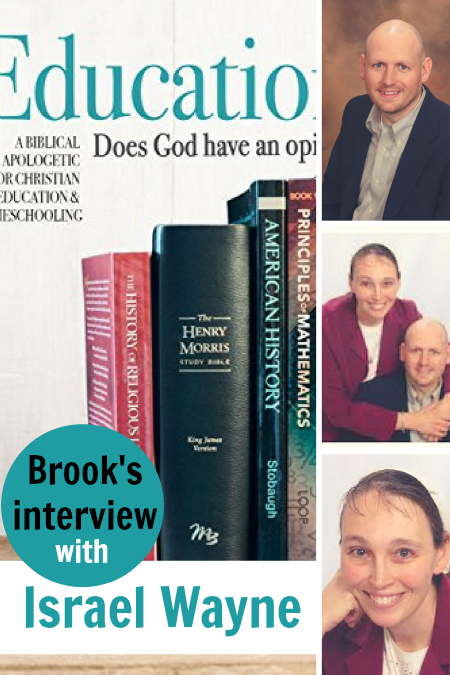 God's opinion on education | Join Brook Wayne for her interview with Israel.