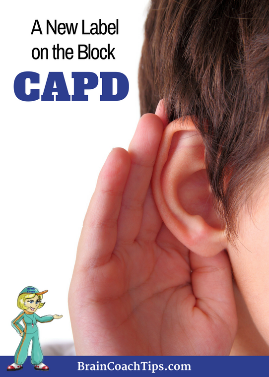 CAPD - Central Auditory Processing Disorder with the Brain Coach.