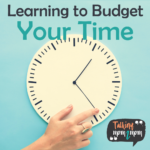 Learning How to Budget Your Time