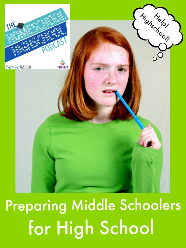 HSHSP Ep 66: Preparing Middle Schoolers for High School What life and study skills do middle schoolers need in preparing for highschool?