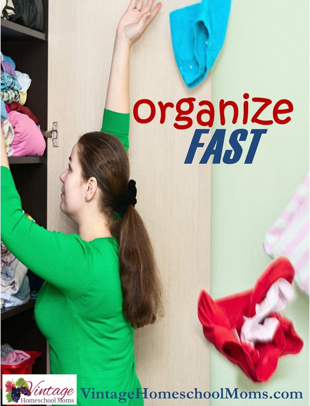 get organized fast |  I'm on a mission - to get organized fast and I did this by dejunking my home.