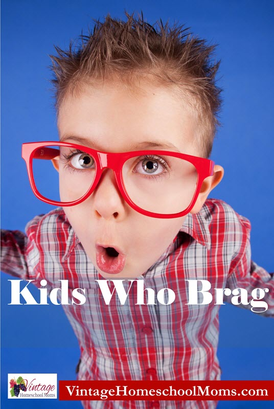 CURE BRAGGING | Bragging. It is one of those things parents often find alarming. There is a cure for bragging kids