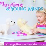 Playtime Develops Young Minds
