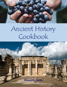 Ancient History Cookbook by Meredith Curtis at Powerline Productions, Inc.