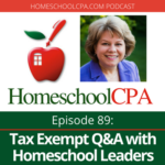 tax exempt homeschool qa homeschool leaders