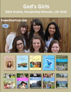 God's Girls Books by Powerline Productions, Inc.