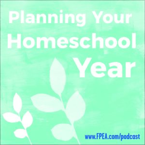 planning homeschool year