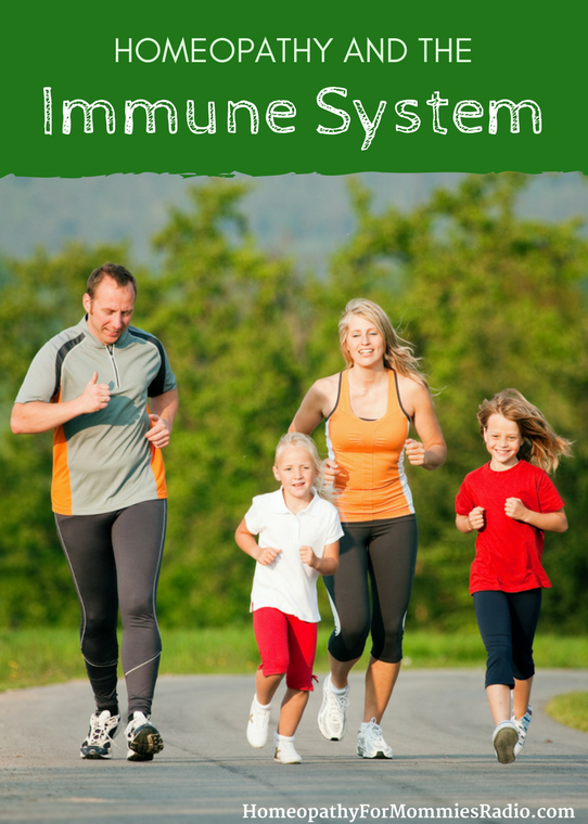 Using Homeopathy to Build the Immune System