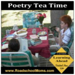 Poetry Tea Time Recharges Roadschool
