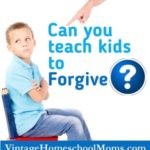 Teaching Kids Forgiveness