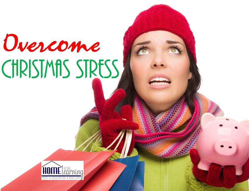 overcome Christmas stress
