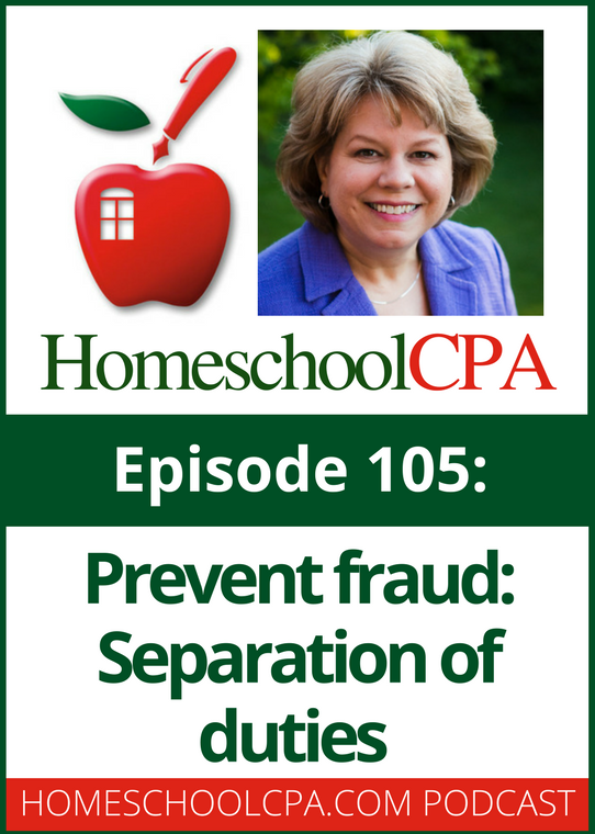 Prevent Fraud: Separation of Duties