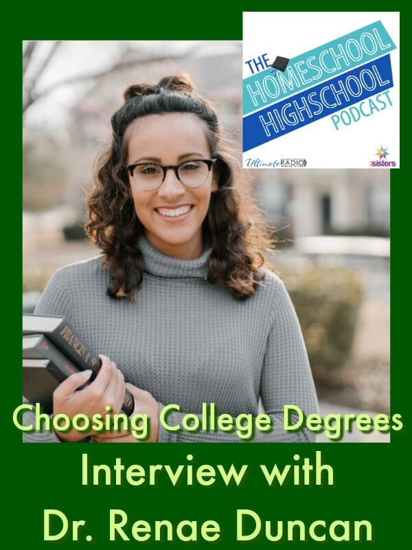 HSHSP Ep 94: Choosing College Degrees Interview with Dr. Renae Duncan
