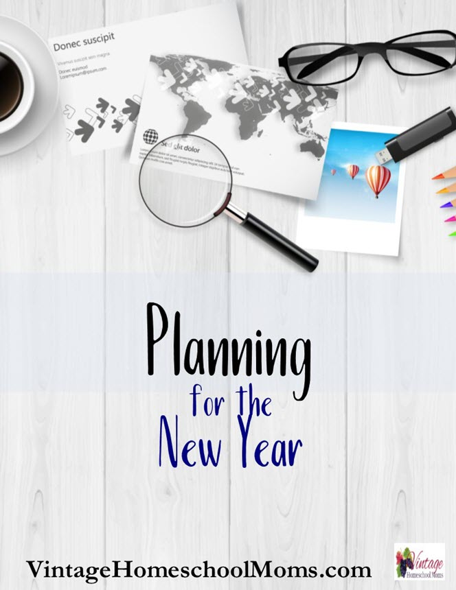 planning for the new year | Each new year we plan so many things and most are undoable. #Homeschool #homeschooling #podcast #planning
