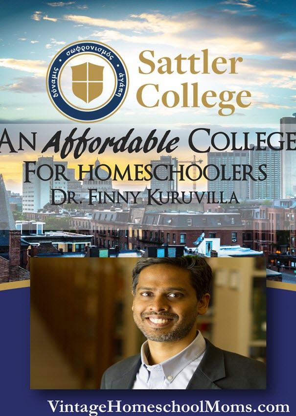 Sattler College Affordable For Homeschoolers