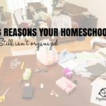 6 Reasons Your Homeschool Still Isn't Organized