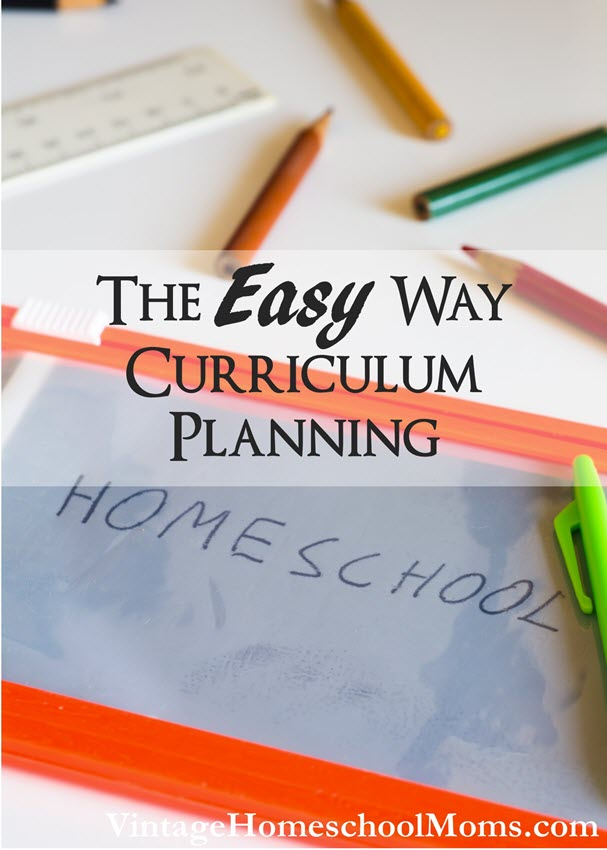 easy way curriculum planning | Curriculum Planning The Easy Way?  It never gets old, the feeling of excitement OR dread when you are planning your homeschool curriculum. #Homeschool #homeschooling #podcast #easycurriculum